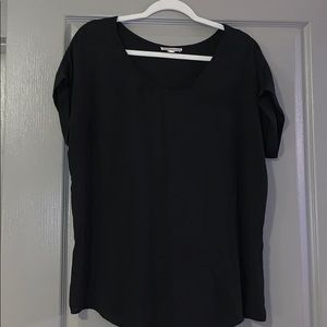 Basic match-with-everything black blouse